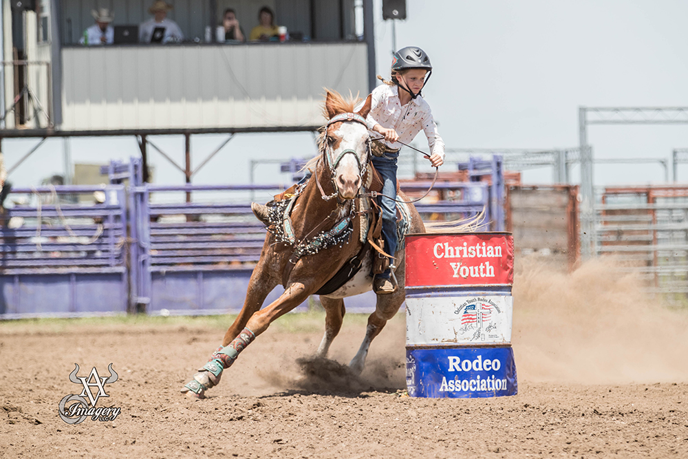 Pee Wee Barrel Racing - Lindsay